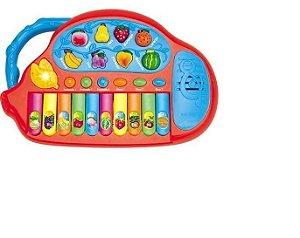 Teclado Musical Fun Frutas - Cks Toys