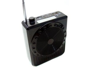 Megafone / Kit Professor Amplificador De Voz Portátil Preto - BOAS