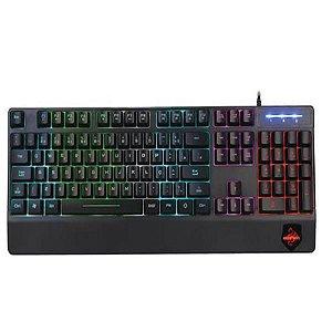 Teclado Gamer Evolution, RGB, ABNT 2- TPC-046M Hoopson