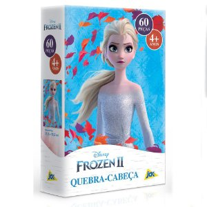 Quebra-Cabeça 60 Peças Disney Frozen II Elsa - Toyster