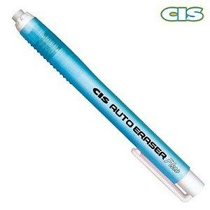 Caneta Borracha C/Refil Auto Eraser Fluo Azul Cis