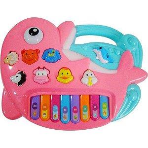Tecladinho Golfinho - DM Toys