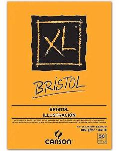 Bloco XL BRISTOL A4 C/50FLS 180GRS - Canson