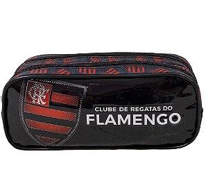 Estojo Infantil Duplo Flamengo - Xeryus