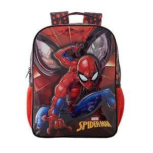 Mochila Escolar Tamanho 14 Spider Man - Xeryus