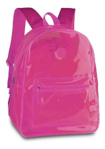 Mochila de Costas Rosa Neon - Clio