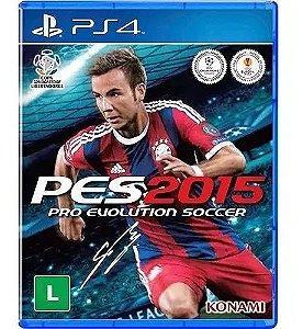Jogo - PES 2015 - Sony - PS4