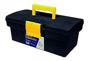 Caixa Ferramentas Plástica Pequena 18x32cm 12,5'' - Metasul