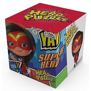 Quebra-Cabeça 100 Peças - Hero Puzzle Heroina - Pais & Filhos - Pais E Filhos