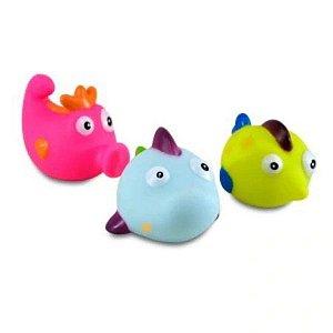 Hora Do Banho Bichinhos De Vinil Zoop Toys