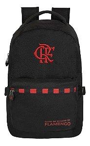 Mochila Escolar Esportiva Flamengo Rubro Negro Original - Xeryus