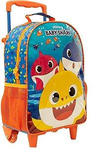 Mochila com Rodas 16 Baby Shark 9590 - Xeryus