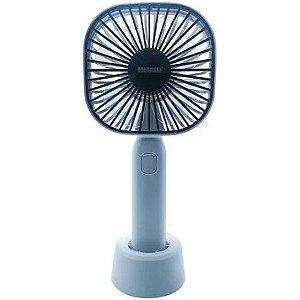 Mini Ventilador Recarregável Preto Alfacell
