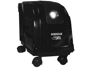 Nobreak 700VA Com Estabilizador - Filtro de Linha Bivolt 4 Tomadas 1 Bateria Selada - Force Line