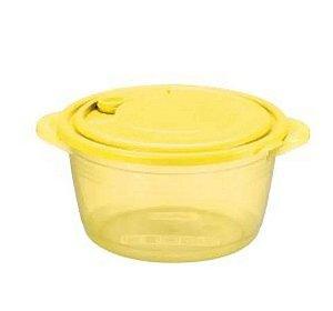 Panela Para Microondas 1,5 Litros Amarelo - Nitron