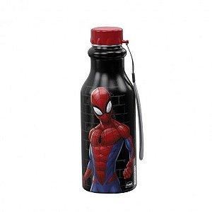 Garrafa de Plástico 500 ml com Tampa Rosca Retrô Homem Aranha - Plasutil
