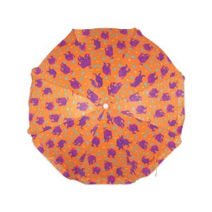 Guarda-Sol Fashion 1,60m Estampa Laranja - Mor