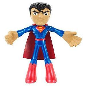 Figura Flexível - 10 Cm - DC Comics - Liga da Justiça - Superman - Mattel