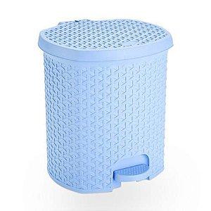 Lixeira 6 Litros Azul Baby Nitron