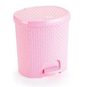 Lixeira 6 Litros Rosa Baby Nitron