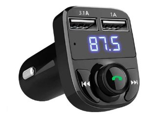 Sem Fio Bluetooth Handsfree Kit Carro Fm Transmissor Mp3 Pla