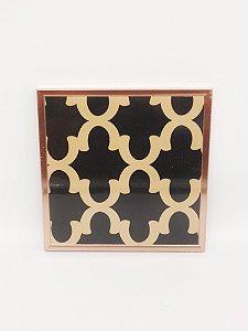 Quadro Decorativo de Plastico 24,5x24cm - Amigold