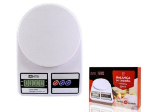Balança De Cozinha Digital Alta Precisão Até 10Kg Alimento - Mbhouse