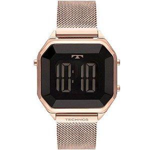 Relógio Digital Technos Feminino Rose - BJ3851AK/4P