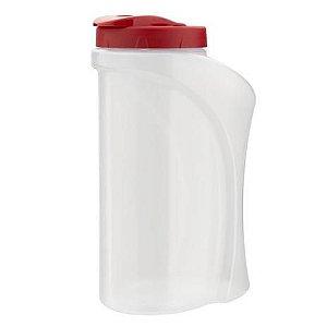 Garrafa Plasútil Agua Transparente 1,30L