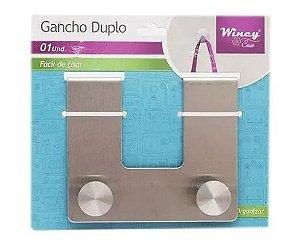 Gancho Duplo Inox - Wincy