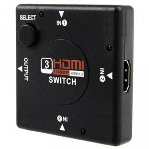 Hub Switch Hdmi 3 Portas - Yes Shop