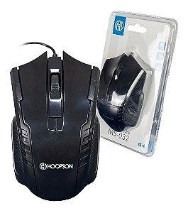Mouse Óptico Com Fio Usb 1000 Dpi Ms-032 Pc Notebook