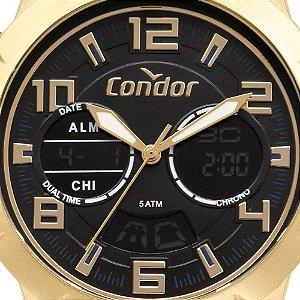 Relógio Condor Masculino Dourado - CO203AMSR/4P