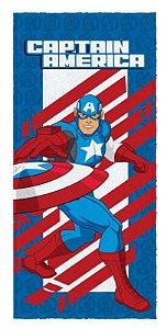 Toalha De Banho Felpuda Inf.Avengers - Lepper