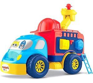 Caminhão Bombeiro Playskool Baby Transformers - Diver Toys