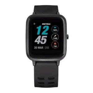 Relógio Smartwatch Mormaii Life Preto - MOLIFEAB/8P