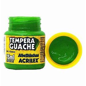 Tinta Tempera Guache Acrilex 15 ml - Verde