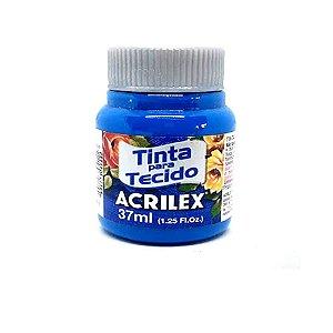 Tinta Tecido Fosca 37ML Azul Acrilex