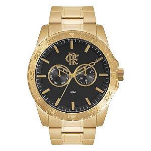 Relógio Flamengo Dourado - FLA6P25AB/4D