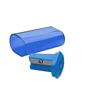 Apontador Azul C/ Deposito tris