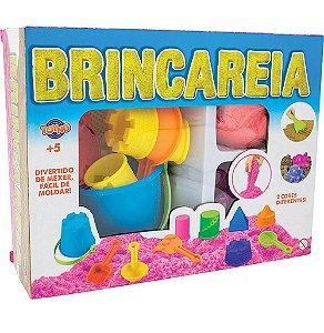 Massinha Brincareia Kit Areia De Brincar Sortida - Toyng
