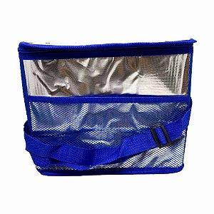 Bolsa Térmica 13 Litros Azul - Casita