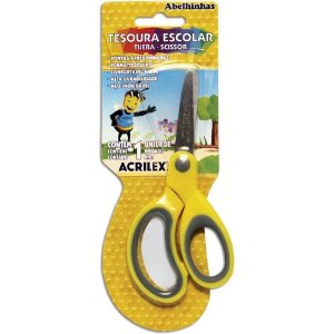 Tesoura Escolar Cart/1 pc - Acrilex