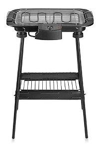 Churrasqueira Elétrica Gourmet com Pedestal Multilaser