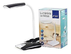 Luminária de Mesa 8 Leds 4W Bivolt - Fix