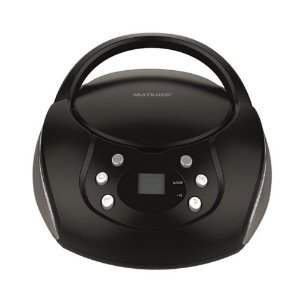 Rádio Boombox 20W RMS CD / FM / USB Bivolt - Multilaser