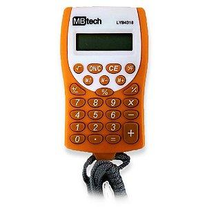 Calculadora de Bolso MB Tech 8 Dígitos a Bateria - LY84318