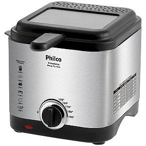 Fritadeira com Óleo Philco Deep Fry Inox 1,8L 900W / 127V