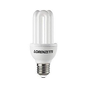 Lâmpada Fluorescente 3U 19W / 127V Branco Frio (6.400K) - Lorenzetti
