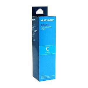 Refil de Tinta Epson Ciano 100ml - Multilaser